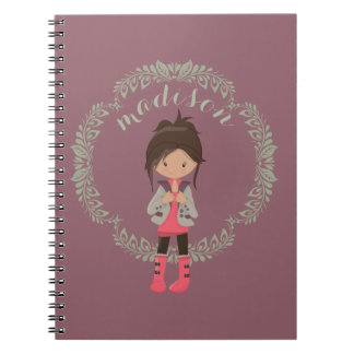 Trendy Girly Avatar Journal/ Notebook