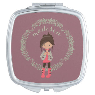 Trendy Girly Avatar Makeup Mirrors