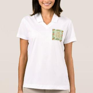 trendy,girly,country,chrismas,pattern,shabby,chic, polo shirt