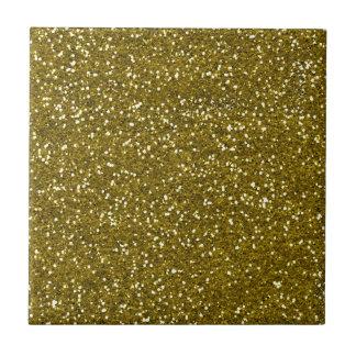 Trendy Gold Glitter Tile