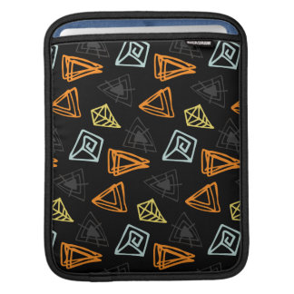 Trendy hand made Pattern Abstract Triangles iPad Sleeve