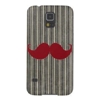Trendy Handlebar Mustache Moustache Stache Galaxy S5 Cases