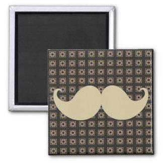 Trendy Handlebar Mustache Moustache Stache Fridge Magnet