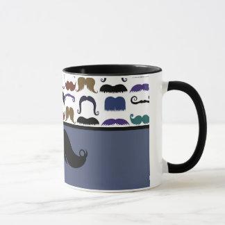 Trendy Handlebar Mustache Moustache Stache Mug