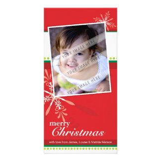 TRENDY HOLIDAY PHOTOCARD :: brightlyflaked 5P Customised Photo Card