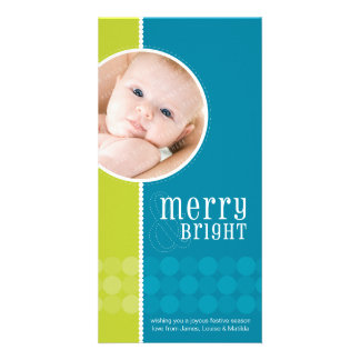 TRENDY HOLIDAY PHOTOCARD :: goodcheer 5 Personalized Photo Card