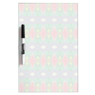 Trendy horizontal colorful pattern Dry-Erase whiteboards