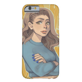 Trendy lady barely there iPhone 6 case