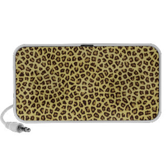 Trendy Leopard Cheetah Print Mp3 Speaker