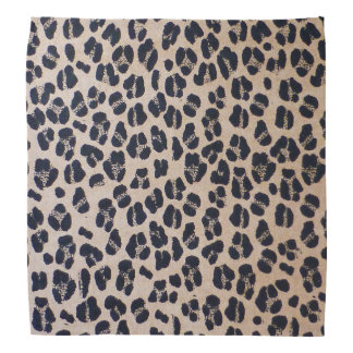 Trendy Leopard Print Abstract Fashion Bandana