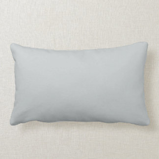 Trendy Light Grey Solid Colour Pillow