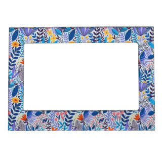 Trendy lovely floral 5x7 Magnetic Frame