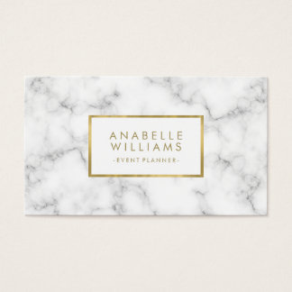 Trendy Marble and Faux Gold Texture