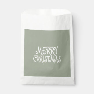 Trendy Merry Christmas Favour Bags