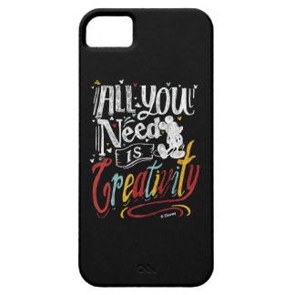 Trendy Mickey | All You Need Is Creativity iPhone 5 Case