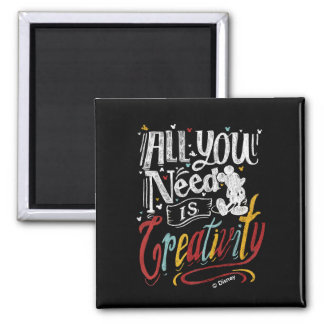 Trendy Mickey   All You Need Is Creativity Magnet