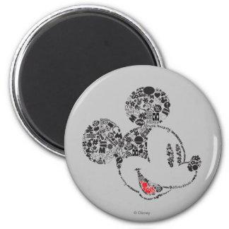Trendy Mickey   Icons & Phrases Magnet
