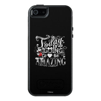 Trendy Mickey | Today Is Going To Be Amazing OtterBox iPhone 5/5s/SE Case