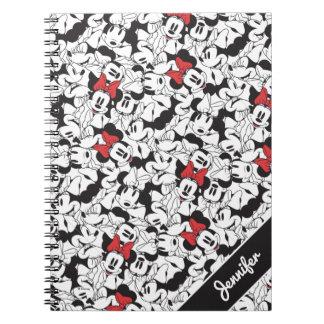 Trendy Minnie   Classic Pattern Notebooks