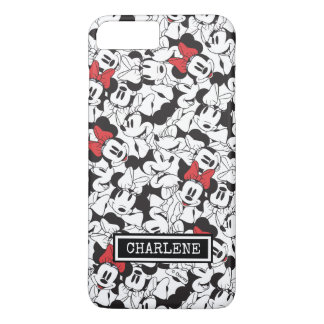 Trendy Minnie | Classic Pattern | Your Name iPhone 7 Plus Case