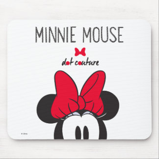 Trendy Minnie   Dot Couture Mouse Pad