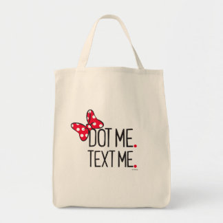 Trendy Minnie | Dot Me. Text Me. Tote Bag