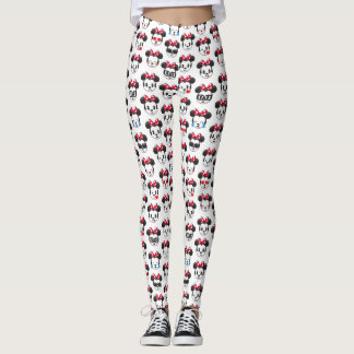 Trendy Minnie | Emoji Pattern Leggings