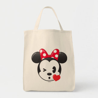 Trendy Minnie | Flirty Emoji Tote Bag