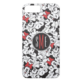 Trendy Minnie | Monogram Classic Pattern iPhone 7 Plus Case