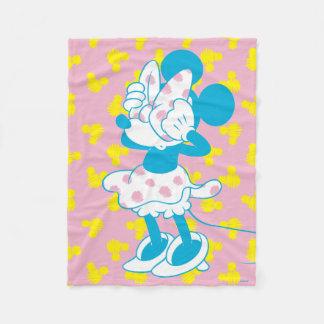 Trendy Minnie | Peek A Boo Fleece Blanket