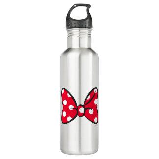 Trendy Minnie | Red Polka Dot Bow 710 Ml Water Bottle