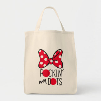 Trendy Minnie | Rockin' My Dots Tote Bag