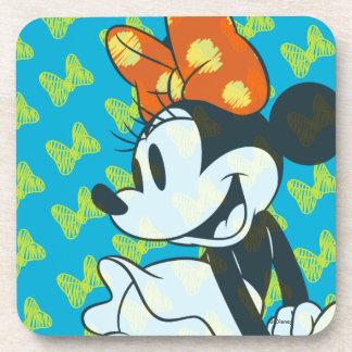 Trendy Minnie | Shy Pose Coaster