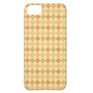 Trendy Modern Argyle Case For iPhone 5C