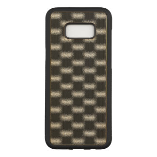 Trendy Modern Cool Unique Abstract Patterns Carved Samsung Galaxy S8+ Case