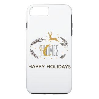 Trendy Monogram Holiday Phone Case