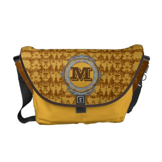 Trendy Monogram Messenger Bag