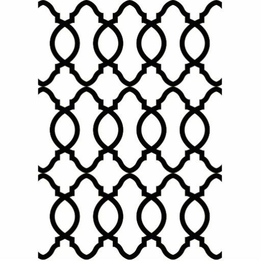 Trendy Moroccan Pattern Decorator Trellis Design Photo Cutouts