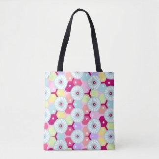 Trendy Multi colored Tote bag