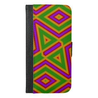 Trendy multicolored pattern
