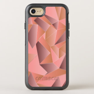 Trendy Ombre Geometric Patterned OtterBox Symmetry iPhone 8/7 Case