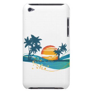 Trendy Palm Trees  iPod Touch Case-Mate Case
