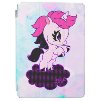 Trendy Pastel Galaxy Unicorn iPad Smart Cover iPad Air Cover