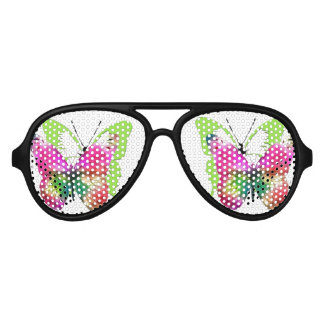 Trendy pattern butterflies Party Shades Sunglasses