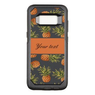 Trendy Personalized Pineapple OtterBox Commuter Samsung Galaxy S8 Case