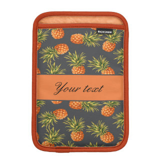 Trendy Personalized Pineapple Sleeve For iPad Mini