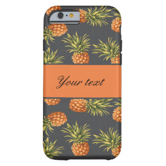 Trendy Personalized Pineapple Tough iPhone 6 Case
