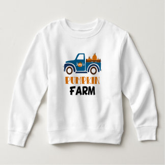 Trendy Personalized Pumpkin Farm Toddler Shirt