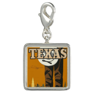 Trendy Photo Charm Bracelet Texas