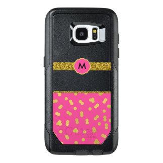 Trendy Pink & Gold OtterBox Samsung Galaxy S7 Case